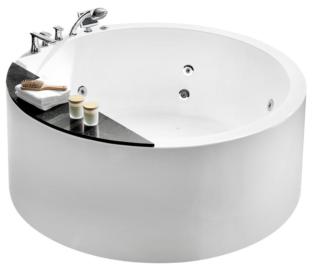 Гидромассажная акриловая ванна Gemy G9230 K, 150 х 150 х 61 см