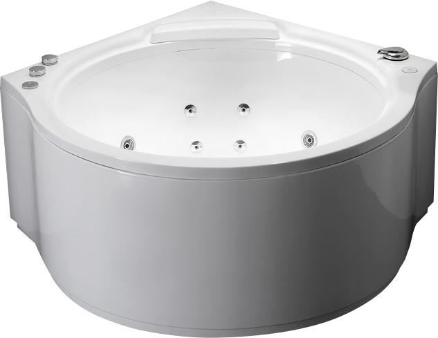 Гидромассажная акриловая ванна Gemy G9251 K, 140 х 140 х 70 см