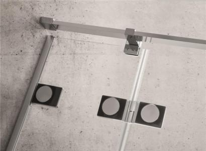 Душевая дверь Radaway Euphoria KDJ 100 левая ,  фурнитура хром , стекло прозрачное 2