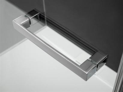 Душевая дверь Radaway Euphoria KDJ 110 правая ,  фурнитура хром , стекло прозрачное 5