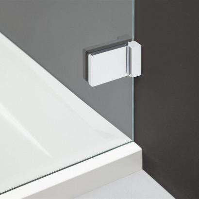 Дверь для душевого уголка Radaway Arta W DWD+S 55 правая с петлей к стене , профиль хром , стекло прозрачное 5