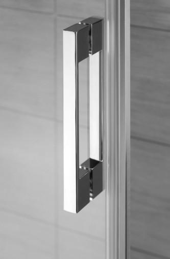 Боковая стенка для душевого уголка Radaway Espera KDJ 75x200 левая ,  профиль хром, стекло прозрачное 2
