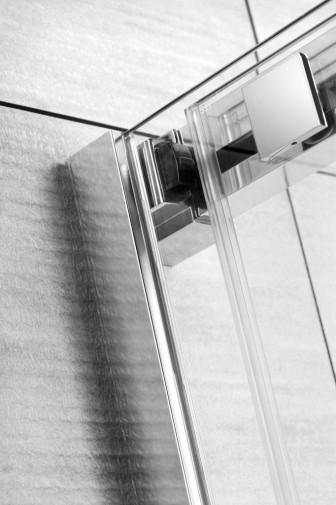 Боковая стенка для душевого уголка Radaway Espera KDJ 75x200 левая ,  профиль хром, стекло прозрачное 3