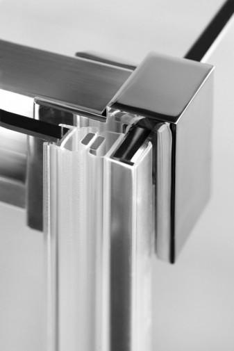 Боковая стенка для душевого уголка Radaway Espera KDJ 75x200 левая ,  профиль хром, стекло прозрачное 7
