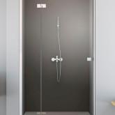 Душевая дверь Radaway Essenza New DWJ 130 левая , профиль хром , стекло прозрачное