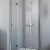 Душевая дверь для душевого уголка Radaway Essenza New KDD-B 80 левая , профиль хром , стекло прозрачное