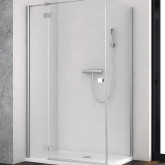 Душевая дверь  для душевого уголка Radaway Essenza New KDJ 90 левая , профиль хром , стекло прозрачное