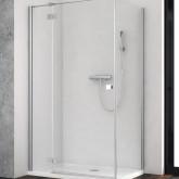 Душевая дверь  для душевого уголка Radaway Essenza New KDJ 120 левая , профиль хром , стекло прозрачное
