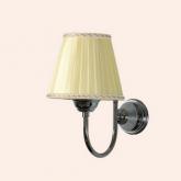 TW Harmony 029, настенная лампа светильника с основанием, цвет: хром , абажур на выбор