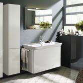Burgbad Iveo Комплект мебели с раковиной 1000 мм, цвет белый глянец