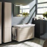 Burgbad Iveo Комплект мебели с раковиной 1000 мм, цвет дуб меринос
