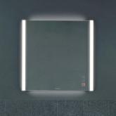 Duravit XViu Зеркало с подсветкой 820x800мм, цвет: матовый черный