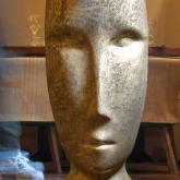 """Kerasan Artwork Раковина свободностоящая """"MOLOCO"""", с отверстием для слива в стену, цвет белый/античное золото"""