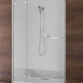 Душевая дверь Radaway Euphoria DWJ 110 левая ,  фурнитура хром , стекло прозрачное