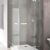 Дверь для душевого уголка Radaway Euphoria KDD 100 левая ,  фурнитура хром , стекло прозрачное
