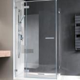 Душевая дверь Radaway Euphoria KDJ 110 правая ,  фурнитура хром , стекло прозрачное
