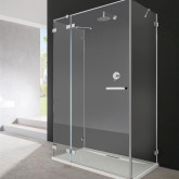 Боковая стенка для душевого уголка Radaway Euphoria KDJ S1 100x200 профиль хром, стекло прозрачное