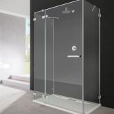Душевая дверь Radaway Euphoria KDJ+S 110 левая ,  фурнитура хром , стекло прозрачное