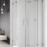 Дверь для душевого уголка Radaway Euphoria PDD 90x200 левая профиль хром, стекло прозрачное