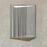 Зеркало Cub 60 Темный лен