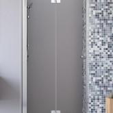 Душевая дверь Radaway Fuenta New DWB 90 левая , профиль хром , стекло прозрачное