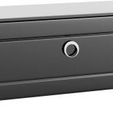 Инфинити Тумба напольная с ящиком, цвет черный Inf.03.10/BLK,