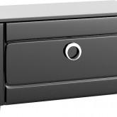 Инфинити Тумба напольная с ящиком, цвет черный Inf.03.08/BLK,