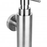 Настенный дозатор для жидкого мыла (металлический стакан)