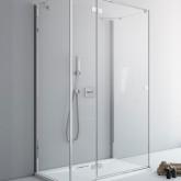 Дверь для душевого уголка Radaway Fuenta New KDJ+S 90 правая , профиль хром , стекло прозрачное