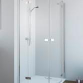 Дверь для душевого уголка Radaway Fuenta New PDD 90 левая , профиль хром , стекло прозрачное