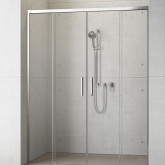 Душевая дверь в нишу Radaway Idea DWD 180x200 профиль хром, стекло прозрачное