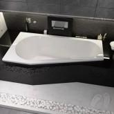 Асимметричная ванна Riho Delta 150x80 R без гидромассажа BB8000500000000