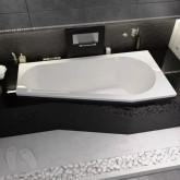 Асимметричная ванна Riho Delta 160x80 L без гидромассажа BB8300500000000