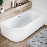 Асимметричная ванна Riho Desire L 184x84 без гидромассажа BD0600500000000