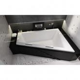 Асимметричная акриловая ванна Riho Doppio 180x130 левая , без гидромассажа BA9100500000000