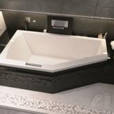 Асимметричная ванна Riho Geta 160x90 R правая без гидромассажа BA8600500000000