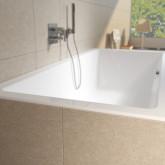 Прямоугольная ванна Riho Lugo 180x80 без гидромассажа с тонким бортом BT0200500000000