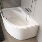 Асимметричная ванна Riho Lyra 140x90 R без гидромассажа BA6500500000000
