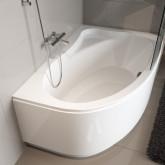 Асимметричная ванна Riho Lyra 153x100 L без гидромассажа BA6800500000000