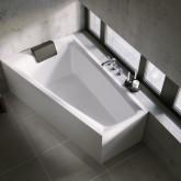 Асимметричная ванна Riho Still Smart Elite L 170x110 без гидромассажа BD1600500000000
