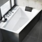 Асимметричная ванна Riho Still Smart L 170x110 без гидромассажа BR0400500000000
