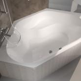 Ванна в форме призмы Riho Winnipeg 145x145 без гидромассажа BA4800500000000