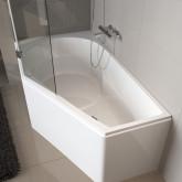 Асимметричная ванна Riho Yukon 160x90 R без гидромассажа BA3400500000000