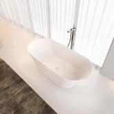 Овальная ванна из искусственного камня Riho Barca 170x79 белая BS6000500000000