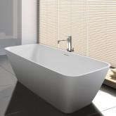 Прямоугольная ванна из искусственного камня Riho Malaga 160x75 белая BS3000500000000