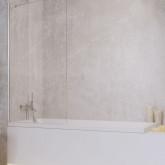 Шторка на ванну Radaway Idea PNJ 60 , профиль хром, стекло прозрачное