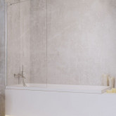 Шторка на ванну Radaway Idea PNJ 100 , профиль хром, стекло прозрачное