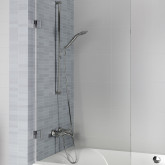 Стеклянная шторка для ванны Riho Scandic M107 80x150 L GX0103201