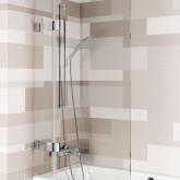 Стеклянная шторка для ванны Riho Scandic S109V 90x150 GC65200