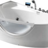 Гидромассажная акриловая ванна Gemy G9046 O L, 161 х 96 см